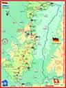alpes000: Carte de l'itinéraire dans les Vosges (1/2)