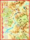 alpes331a: Carte et graphique de Modane à Bousieyas (3/4
