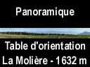 moliere.52: Panoramique de la Molière (de la Chartreuse au Moucherotte)