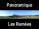 moucherotte.35: Panoramique vers la cabane des Ramées (au fond)