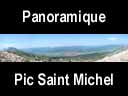 moucherotte.56: Panoramique du pic Saint Michel ? 1966 m