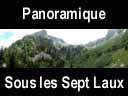 sept laux.10: Panoramique du sentier des sept laux