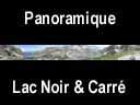 sept laux.42: Panoramique du lac Noir, lac Carré, lac Cottepens et refuge des Sept Laux