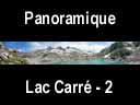 sept laux.45: Panoramique du lac Carré et refuge des Sept Laux