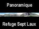 sept laux.52: Panoramique au refuge des Sept Laux