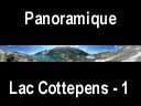sept laux.60: Panoramique lac du Cos, lac Cottepens et refuge des Sept Laux
