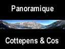 sept laux.70: Panoramique lac du cos et lac Cottepens
