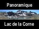 sept laux.85: Panoramique au lac de la Corne ? 2096 m