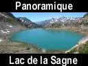 sept laux.87: Mini panoramique du lac de la Sagne ? le dernier lac avant la descente sur le Rivier d?Allemont