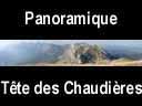 vercors.24: Panoramique du Mont Aiguille à la Tête des Chaudières
