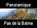 vercors.43: Panoramique du sentier du pas de la Balme
