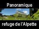 chartreuse160: Panoramique cabanes de l'Alpette et le Granier