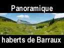 chartreuse167: Panoramique du Granier depuis l'habert de Barraux