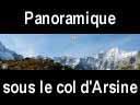 oisans158: Panoramique sous le col d'Arsine