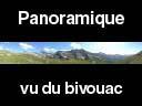 queyras262: Panoramique au dessus du bivouac - GR58