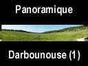 vercors055: Panoramique depuis la cabane - Darbounouse