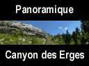 vercors066: Panoramique dans le canyon des Erges